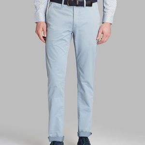 7809b497a Ted Baker Pants - Ted Baker London Mordord 32 R Slim Fit Chino Blue